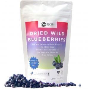 美之味  Dried Wild Blueberries. 100% Whole Dried Blueberries No Sugar Added.