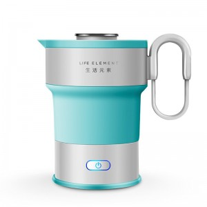 0.6L Silica gel Foldable Electric Kettle Power off Automatically Anti-hot Mini Electric Teapot Household Kitchen Appliances