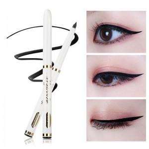 1 PCS Women Beauty Comestic Black Eye Liner Pencil Sexy Cat Matte Eyeliner Pen Mysterious Smooth Smokey Eyeliner TSLM2