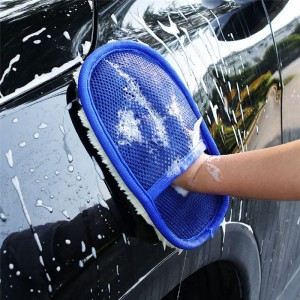 1 Pcs Car Styling Soft Wool Car Wash Cleaning Glove Car Brush Washer Auto Car Care Cleaning Tool Brushes Car Accessories