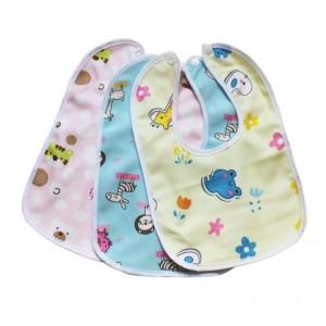 1 Pieces Cartoon Cute Kawaii Fashion Toddlers Saliva Burp Boy Girls Newborn Feeding Waterproof Baby Kids Bibs
