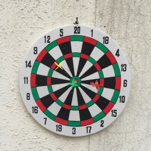 1 Set Double Sided Dart Board Darts Game Set Safety Kids Adults Toy Game Room Home Decoration Antistress Kids Toys Funny Game