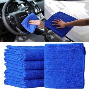 15Pcs Auto Accessorie Decoration Microfiber Car Wash Towel Soft Cleaning Auto Car Care Detailing Cloths Wash Towel Duster