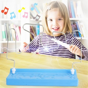 1Set Kids Collision Electric Shock Toy Education Electric Touch Maze Game Party Funny Game Children Kids Study Supplies Toys GYH