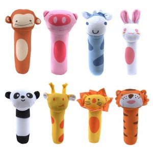 1pcs 2020 Hot Dog Cat Plush Squeak Sound Dog Toys Funny Fleece Durability Chew Molar Toy Fit for All Pets Elephant Duck Pig