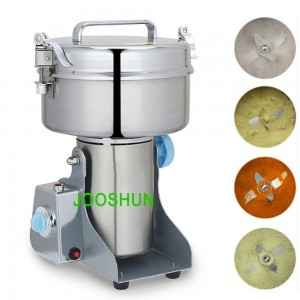 2000g Electric Grain Grinder Machine High Speed Swing Type 4100W Mill Powder Machine for Grinding Various Grains Spice Herb