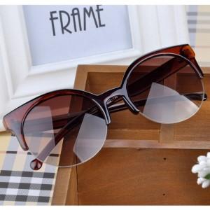 2020 Fashion Brand Design Vintage Sunglasses Women Semi-Endless Retro Men Sunglasses Round Sun Glasses Oculos De Sol Feminino