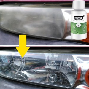 20ml HGKJ Auto Car Accessories polishing headlight agent bright white headlight repair lamp Cleaning Window Glass Cleaner