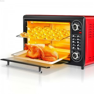 220V  Household  Kitchen Appliances Electric Multifunctional Electric Oven 48 Litre Baking  Bakery  Toaster Oven  Pizza Oven