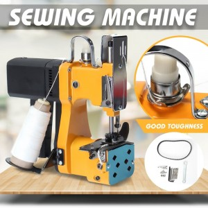 220V/110V electric sewing machine portable automatic packaging machine home textile industry woven bag sealing machine GK9-890