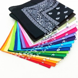 24 Styles Hip Hop Bandana Man Women Fashion Outdoor Headbands Hair Band Wrist Wraps Hair Scarves High Quality Hair Accessories