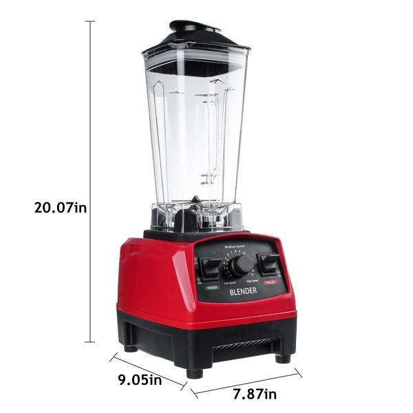 2L  Eu Plug Multifunctional High-speed Blender Juicer Mixer Soymilk Smoothie Maker Household Kitchen Appliance Cooking Machine