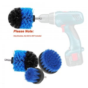 3 pieces/set 2/3.5/4 inch electric cleaning drill brush bathtub basic accessories household kitchen supplies dropping