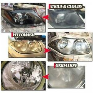 30ML Auto Cleaning Window Glass Cleaner Headlight Repair Refurbishment Fluid White Headlight Repair Car Accessories TSLM1