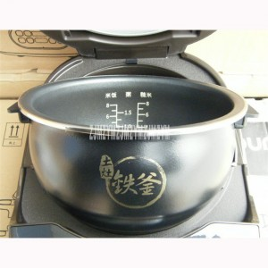 40T1 1000W Household kitchen appliances Smart 4L Mini Rice Cooker For 3-6 People,220V/50Hz Rice Cooker brown Kettle gall bladder