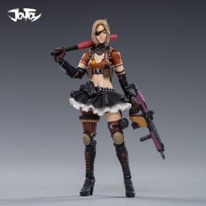 4pcs/set JOYTOY 1/18 CF action figure female soldier in-game Cross Fire(CF) model Toys