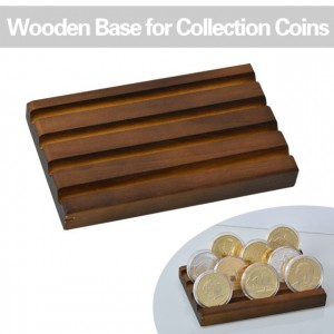 6 Styles Collectible Coins Holder Display Challenge medal Coin Case Collector Desk Decoration Gift for Men