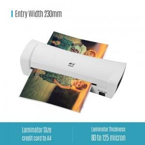 A4 Photo Laminator Hot Cold Laminator Fast Speed Film Laminating Plastificadora Machine Laminating for A4 Documen Photo