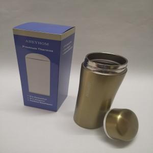 AHEYHOM  Stainless steel vacuum flask male office tea cup female household water cup