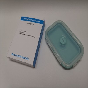 AHEYHOM  Lunch box fresh-keeping box large-capacity plastic fresh-keeping bowl with lid office worker lunch box square sealed box