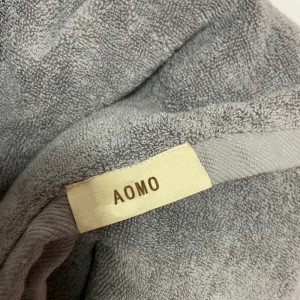 AOMO Bath towels household cotton towels all cotton absorbent quick-drying non-linting wraps