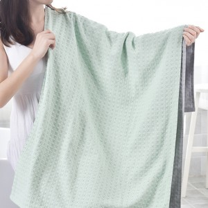 Airmoda Large bath towel pure cotton women's soft absorbent gauze thin summer ultra-thin quick-drying without lint