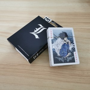 Anime Death Note Toys Poker for Collection playing cards toy gift