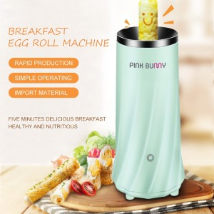 Automatic Multifunctional Egg Roll Maker Electric Eggs Cooker Breakfast Machine Household Kitchen Appliance 220V EU Plug 40D