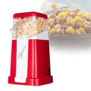 Automatic Popcorn Maker Machine US / EU Plug for Home Powerful Fat Free Quick Preparation Household Kitchen Appliances
