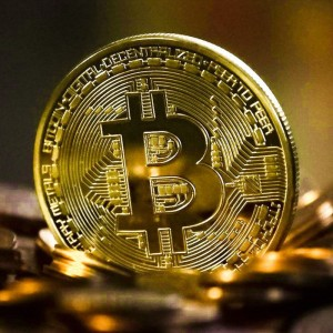 Bitcoin Coin Gold Plated Collectible Art Collection Gift Physical Commemorative Metal Antique Imitation