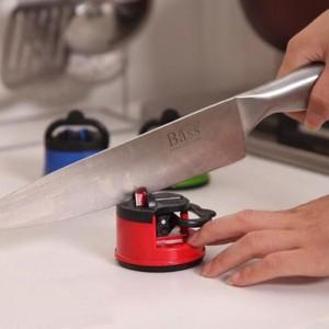 Creative Sucker Positioning Sharpener Suction Cup Sharpening Tool Fine Iron Whetstone Household Kitchen Supplies Knife Sharpener
