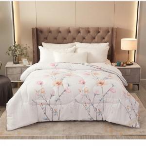DMGOI  Summer lightweight quilt All season thin ultrafine fiber hypoallergenic quilt