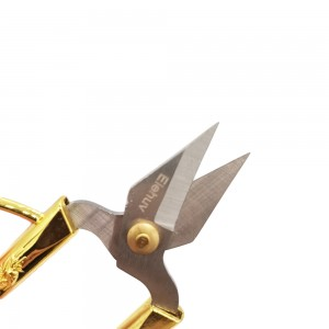 Elehuv Cuticle/embroidery/flying fish/thread scissors, curved blade