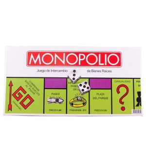 Family Party Toys Classic Spanish Monopoly Game Board Game Real Estate Trading Game