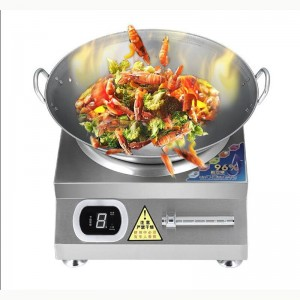 Hall commercial induction cooker 5000w high-power desktop electric stove high-power energy-saving household kitchen appliances