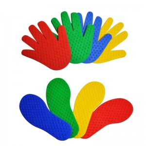 Hands and Feet Game Indoor Outdoor Toys Games For Kids Jump Play Mat Sport Musculation Buitenspeelgoed Giochi Bambini