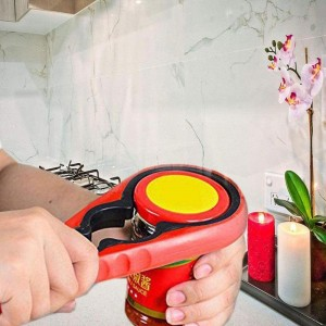 Household Kitchen Supplies Multifunctional Four-in-one Bottle Can Opener Opener Screw Opener Artifact Cap Bottle Opener N5G6