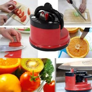 Household Kitchen Supplies Stainless Steel Knife Sharpener  Sharpening Tool 1PCS Sucker Positioning Whetstone Fine Iron