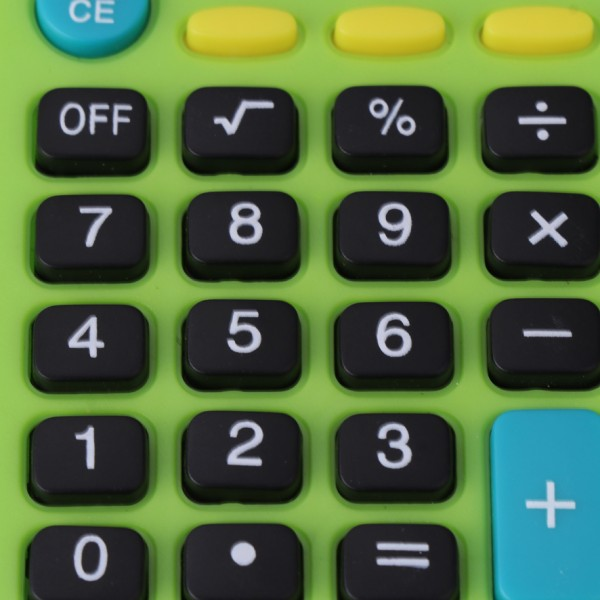 JJASEA Calculator multi-function big screen big button office supplies special for student financial accounting