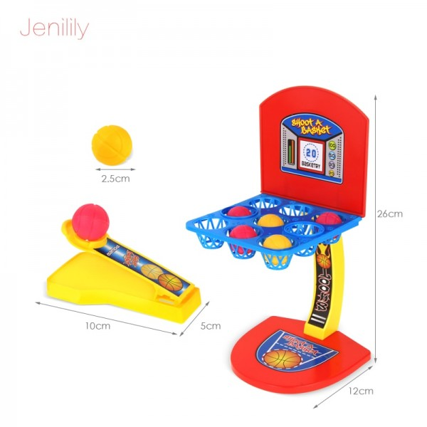 Jenilily Kids Toys Boys Mini Basketball Hoop Shooting Stand Toy Kids Educational for Children Family Game Toy Sports 2 Player