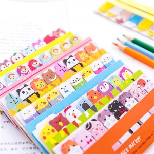 Kawaii Baby Pets Memo Pads Set Creative Sticky Notes Stickers Pads For Kids School Office Supplies Stationery