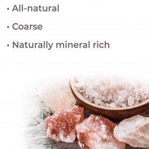 美之味 Pink Himalayan Salt Extra Coarse 2 lb bag Rich in Nutrients and Minerals to Improve Your Health