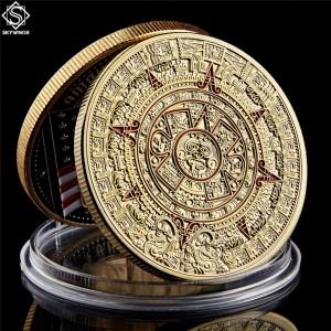 Mexico Mayan Aztec Calendar Art Prophecy Culture 1.57\