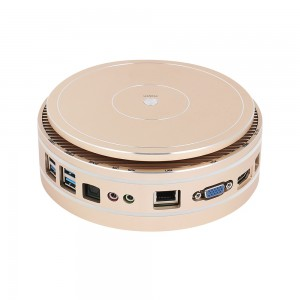 Mini PC Intel Core i7 5550U i5 5250U 4260U Windows 10 HDMI WiFi 4*USB J1900 3215U Family Office PC Mini Comput with cooling Fan
