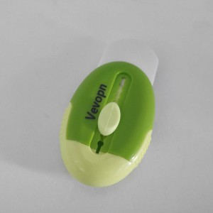 Vevopn  Retractable rubber eraser with   shell-