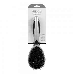 YURKIM Dog needle brush with built-in comb bristles removes mats, tangles and loose hair | Suitable for long-haired or short-haired dogs