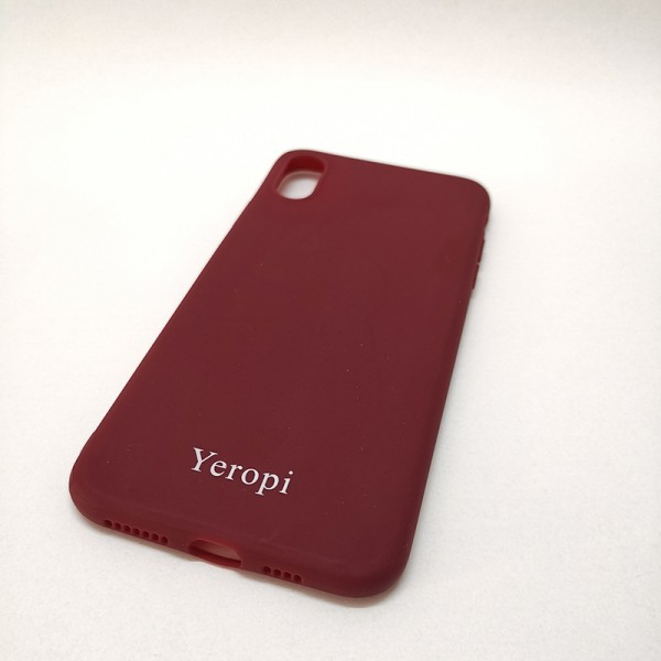 Yeropi Mobile phone silicone protective shell red