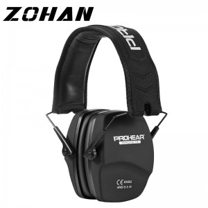 ZOHAN Noise Reduction Safety EarMuffs NRR 26dB Shooters Hearing Protection Earmuffs Adjustable Shooting Ear Protection Protector
