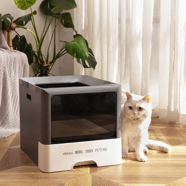 obexx MORE THAN FUTURE Pet Foldable  Cat Litter Box  Reusable Liner
